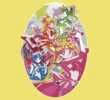 Sailor Moon Team Kids Clothes