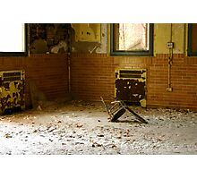 Broken Chair Photographic Print