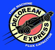 Delorean Express by NinoMelon