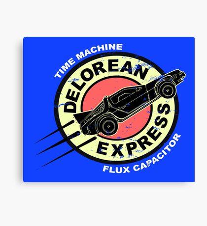 Delorean Express Canvas Print