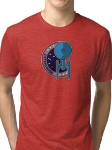 Vintage 1701A Patch Tri-blend T-Shirt