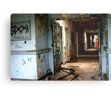Creepy Hall Metal Print