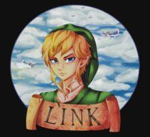 Skyward Sword Link : Hero of Skyloft Kids Tee