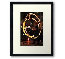 Fire Dancer VI Framed Print