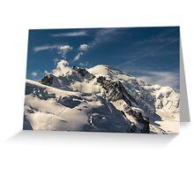 Mt. Blanc Greeting Card