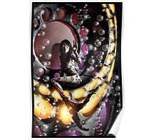 Robot Mermaid Painting 001 Poster