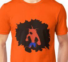 Crash-ing Through (Crash Bandicoot) Unisex T-Shirt