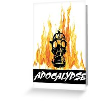 APOCALYPSE SHIRT Greeting Card
