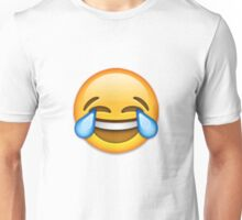 Emoji Crying With Laughter Face Unisex T-Shirt