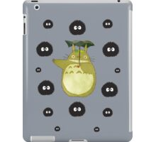 Totoro and Soot Sprites iPad Case/Skin