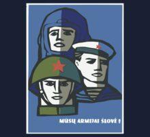 Soviet Army One Piece - Long Sleeve
