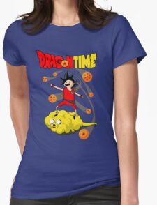 Dragon Time Womens Fitted T-Shirt