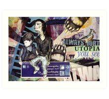 Utopia you see. Always Art Print