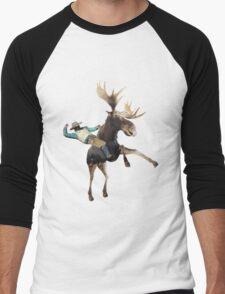 Canadian Rider Men's Baseball ¾ T-Shirt