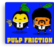 Pulp Friction Canvas Print
