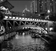San Antonio Riverwalk by Ellie Blum