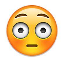 Emoji Flushed Face by assorted