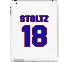 National Hockey player Roland Stoltz jersey 18 iPad Case/Skin