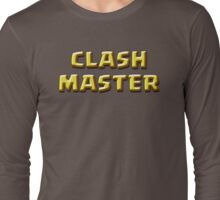 CLASH MASTER Long Sleeve T-Shirt
