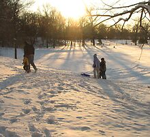 Sledding by ANibbe