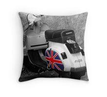 Proud to be British Throw Pillow