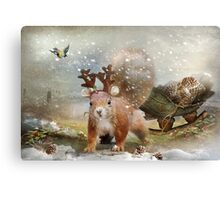 Preparations for the festive season Canvas Print