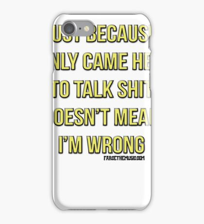 Just Because... iPhone Case/Skin