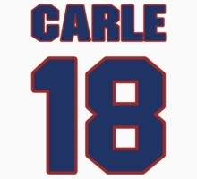 National Hockey player Matt Carle jersey 18 by imsport