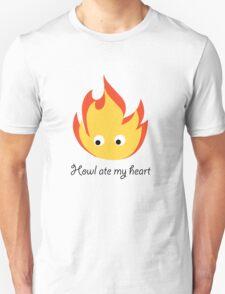 Howl ate my heart Unisex T-Shirt