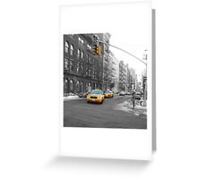 NYC Taxi Greeting Card