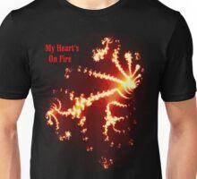 Heart's on Fire Tee Unisex T-Shirt