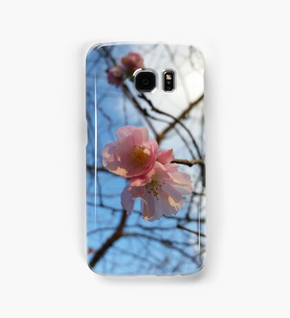 Blue Skies and Winter Blossom Samsung Galaxy Case/Skin