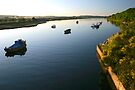 Axe estuary late summer by SWEEPER