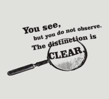 """Sherlock Holmes """"Observe"""" by dodadue89"""