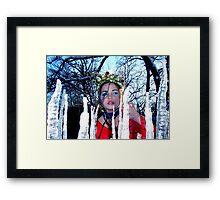 Forest Princess Framed Print