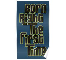 Born Right Poster