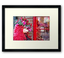 Madam Piggy Framed Print