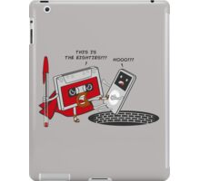 This is the 80,s!!! iPad Case/Skin