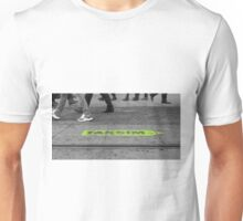 people walking on the street  Unisex T-Shirt