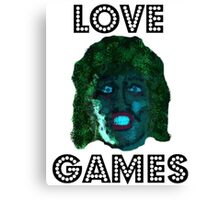 Old Gregg Mighty Boosh Canvas Print