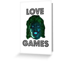 Old Gregg Mighty Boosh Greeting Card