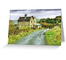 Water House near Darwen, Lancashire Greeting Card