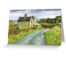 Water House near Darwen, Lancashire Greeting Card