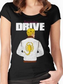 Drive Ryan Gosling Women's Fitted Scoop T-Shirt