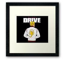 Drive Ryan Gosling Framed Print