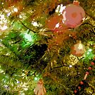 Comic Abstract Decorated Christmas Tree by steelwidow