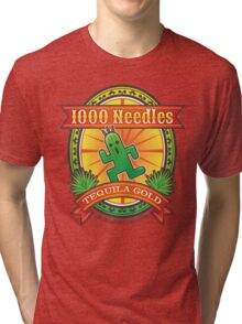 1,000 Needles Tequila Tri-blend T-Shirt
