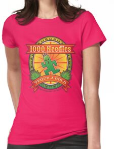 1,000 Needles Tequila Womens Fitted T-Shirt