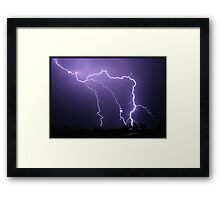 Hunter Valley Storm Framed Print