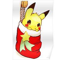 pikachu stocking Poster